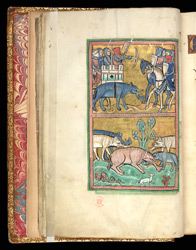 The Elephant, In A Bestiary f.11v